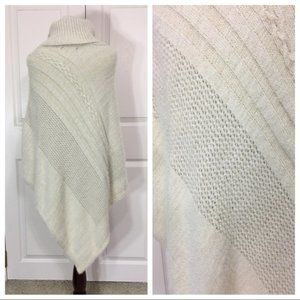 """Anthropologie """"Do Everything in Love"""" poncho"""